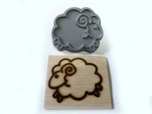 画像1: 干支「羊」『メイちゃん』直火式焼印